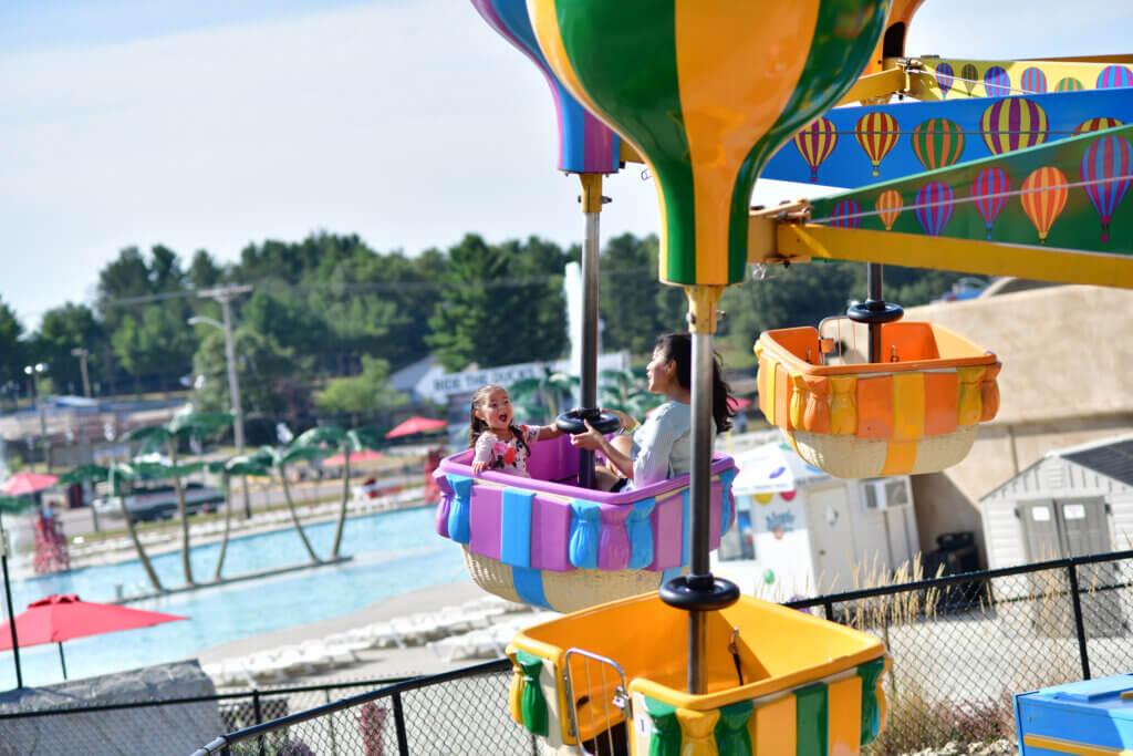 Mt. Olympus amusement park ride