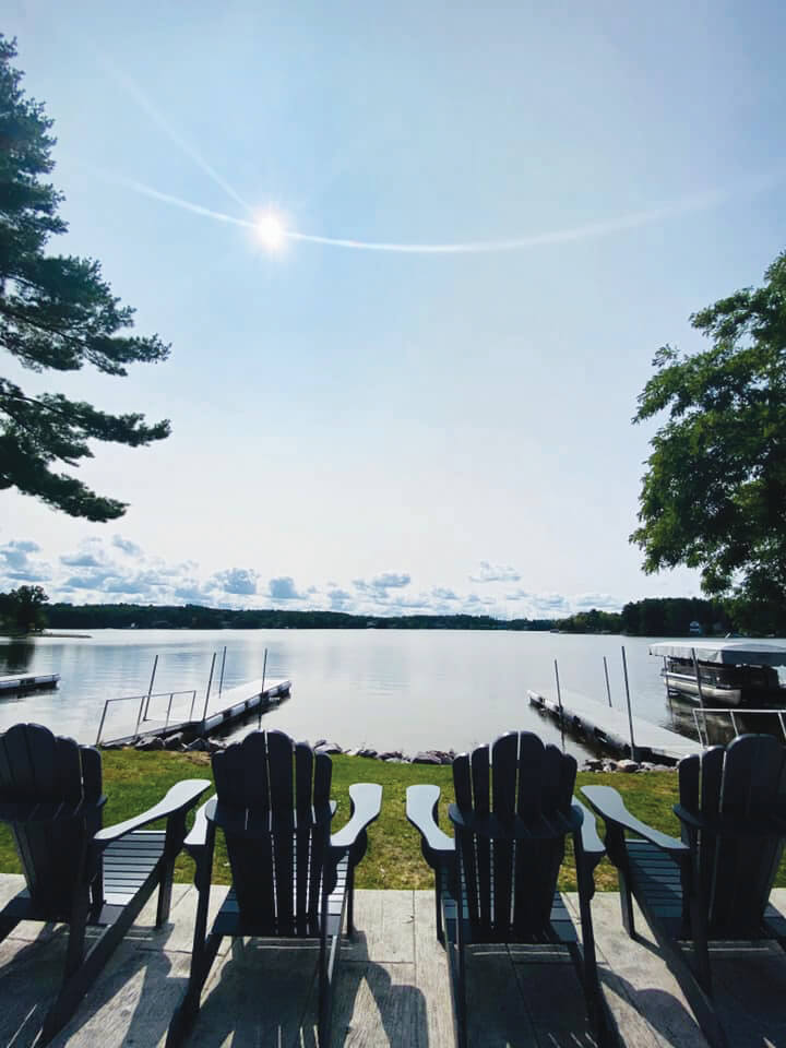 Lake views from Summer House