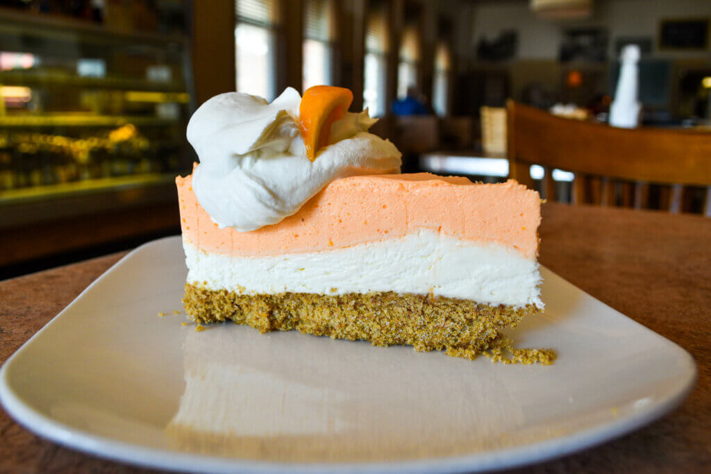 Little Village Orange Dreamsicle Cheesecake